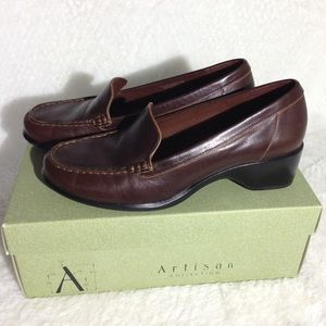 Clarks Artisan Collection Leather Loafers